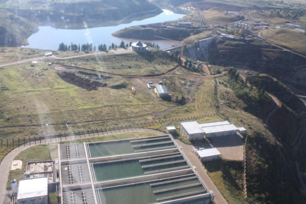 Metolong Dam Construction